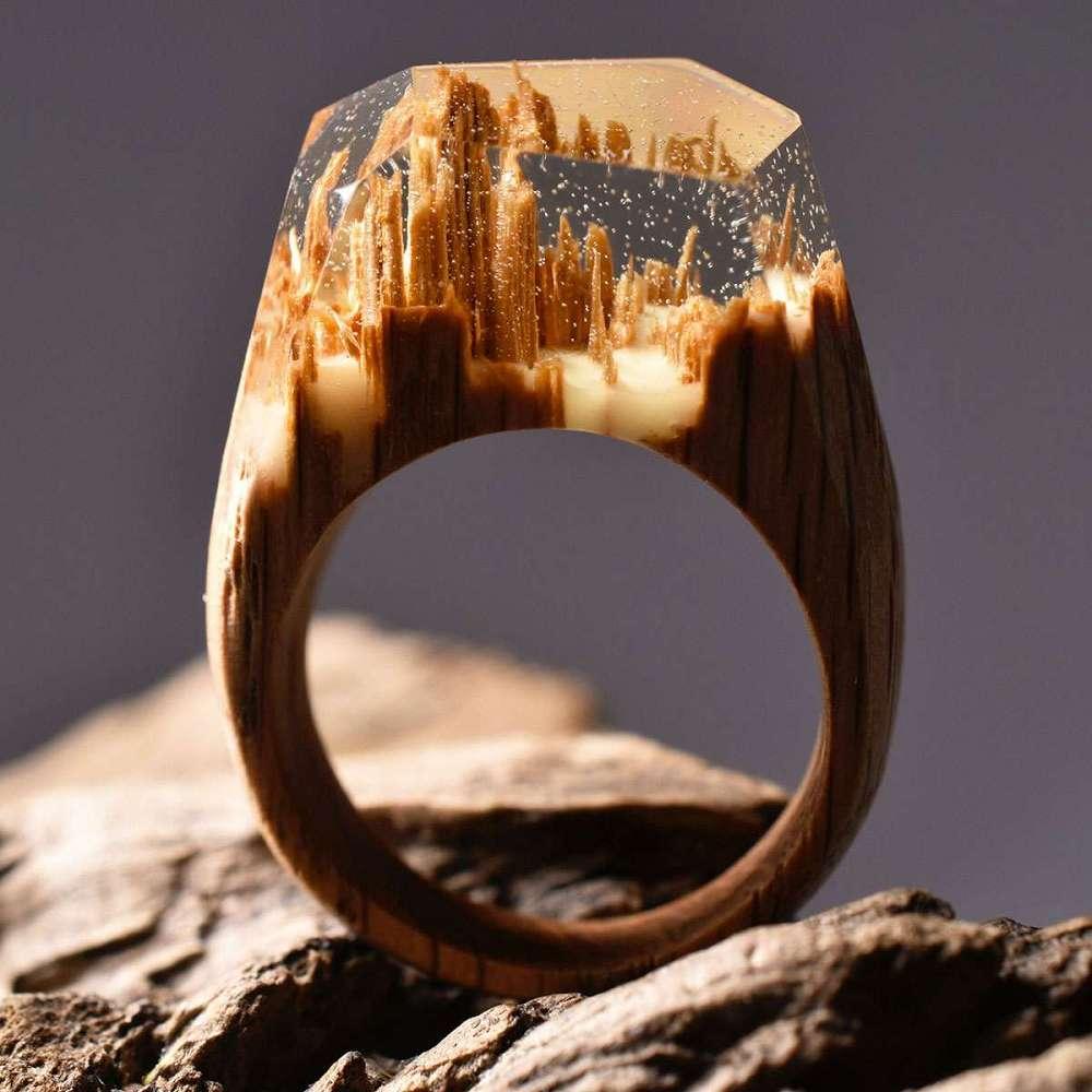 Secret Wood Rings Dudeiwantthat Com