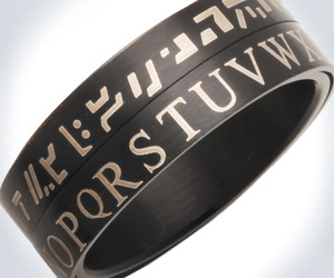 Star Wars Huttese Translator Ring