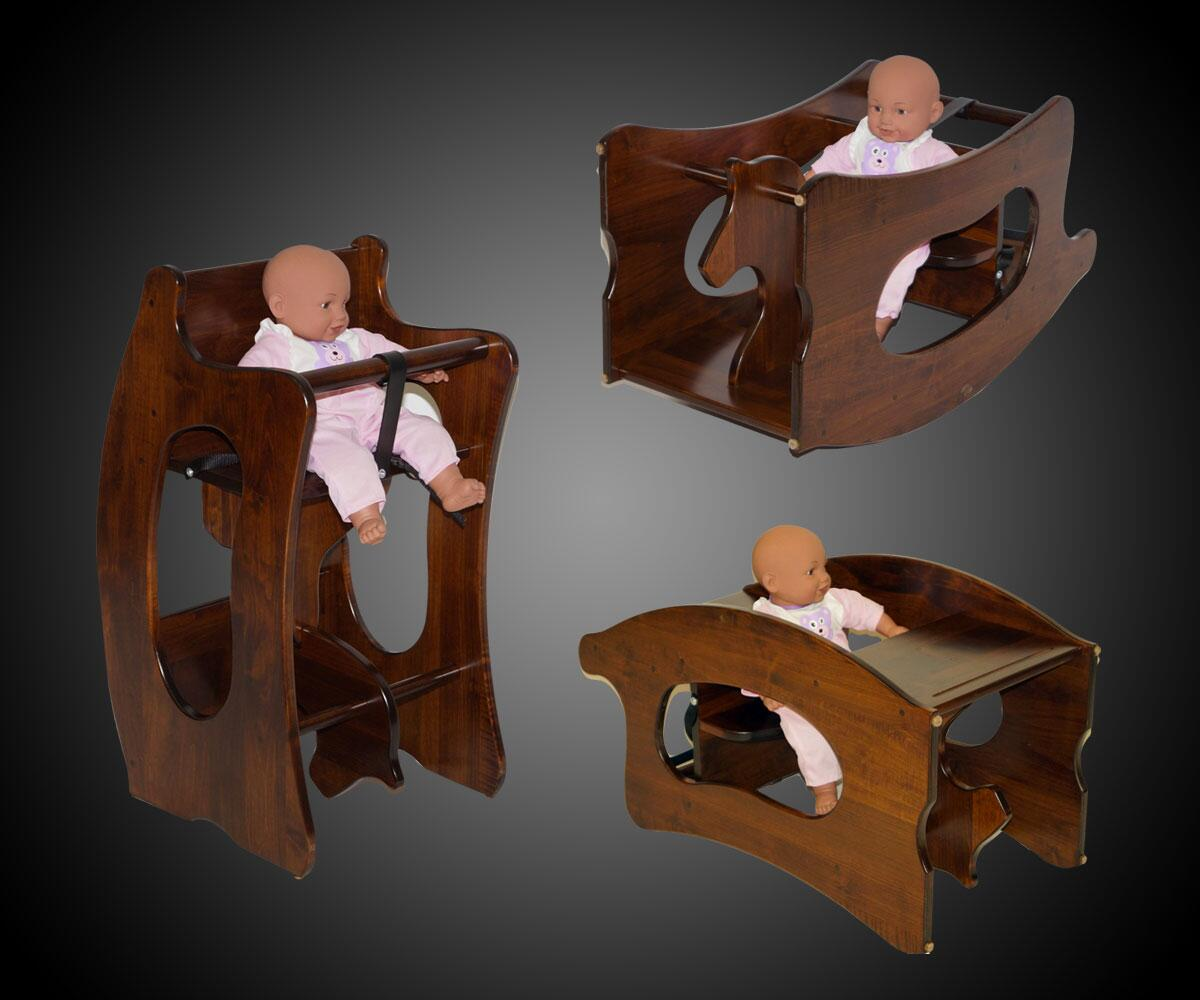 Image result for amish 3 in one high chair