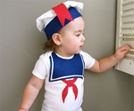 Stay Puft Marshmallow Baby Clothes