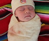 Tortilla Baby Blanket & Hat