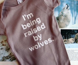 Raised By Wolves Onesie
