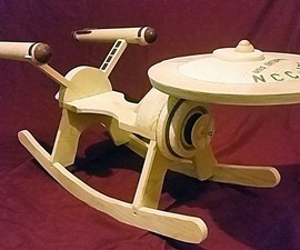 Star Trek Enterprise Rocker
