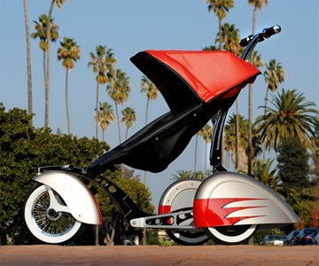 The Roddler - Hot Rod Baby Strollers