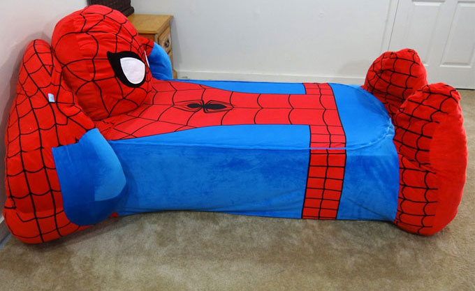 Spiderman Toddler Bed