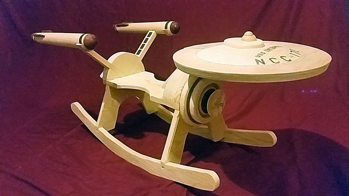 Star Trek Enterprise Baby Rocker