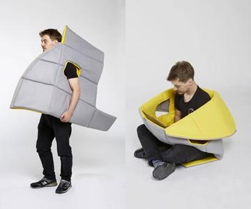 SharkMan Wearable Furniture