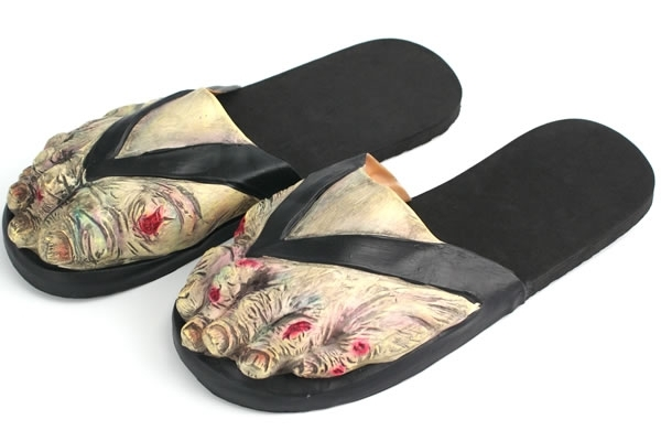 Ugly feet in sandals pictures