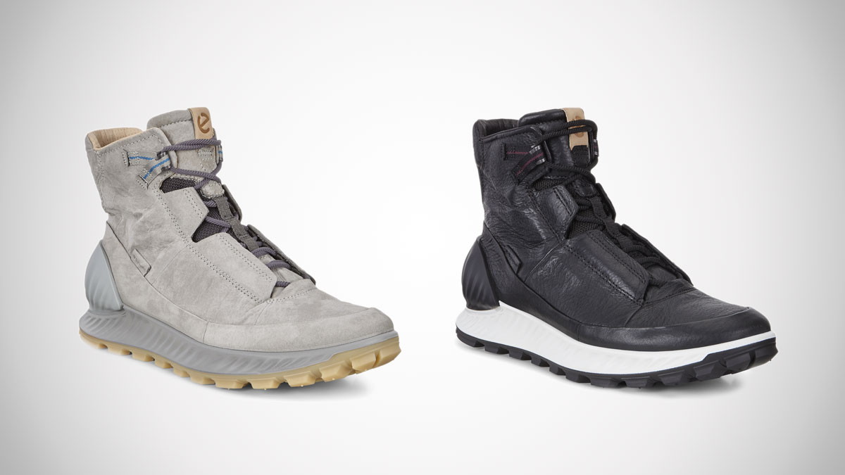 ecco hiking footwear