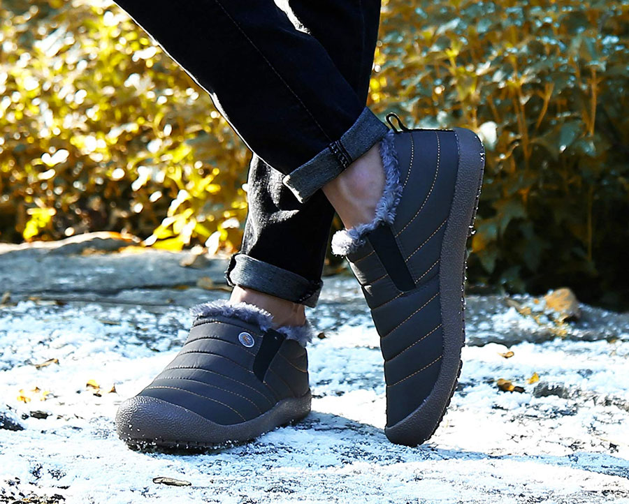 Ankle High Moccasin Style Shoes
