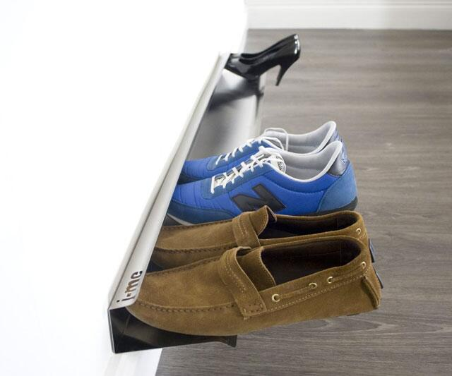 Horizontal shoe rack Stylish shoe rack