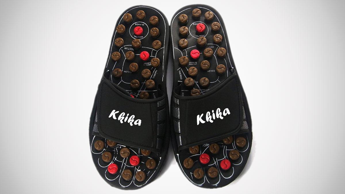Kkika Rotating Acupressure Slippers