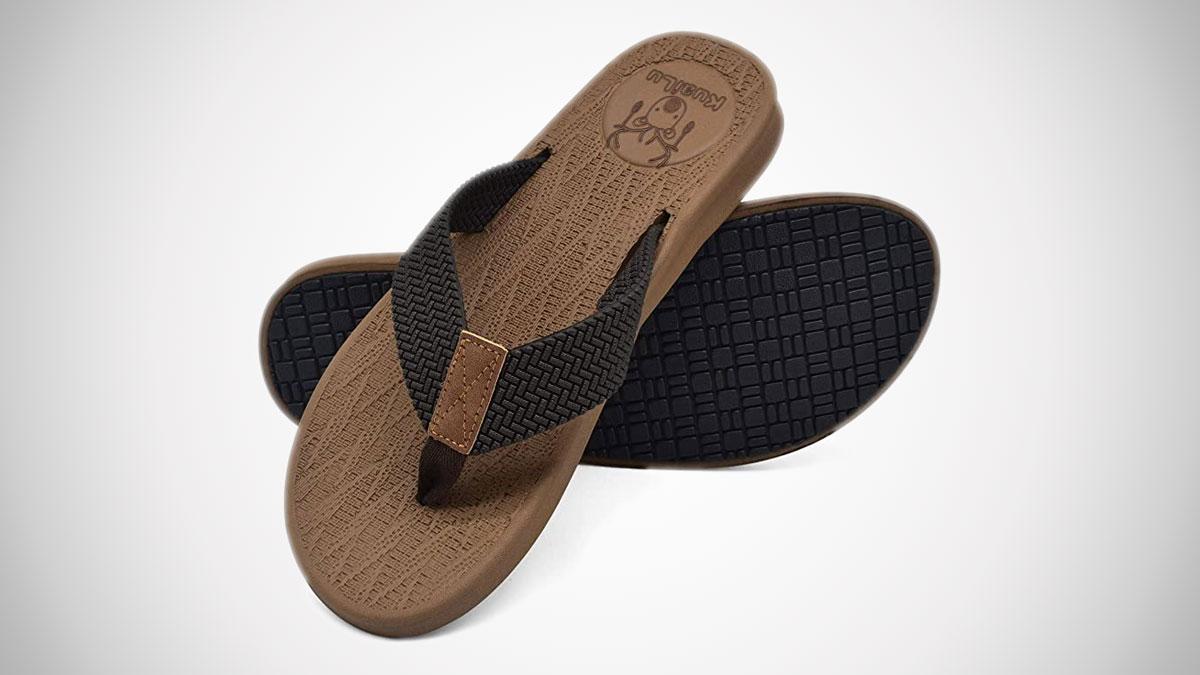 KuaiLu Yoga Foam Flip Flops