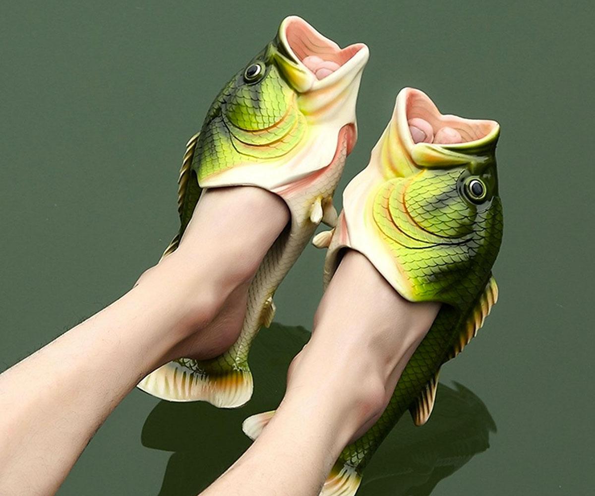 b4302ffd1795 Largemouth Bass Slippers ...