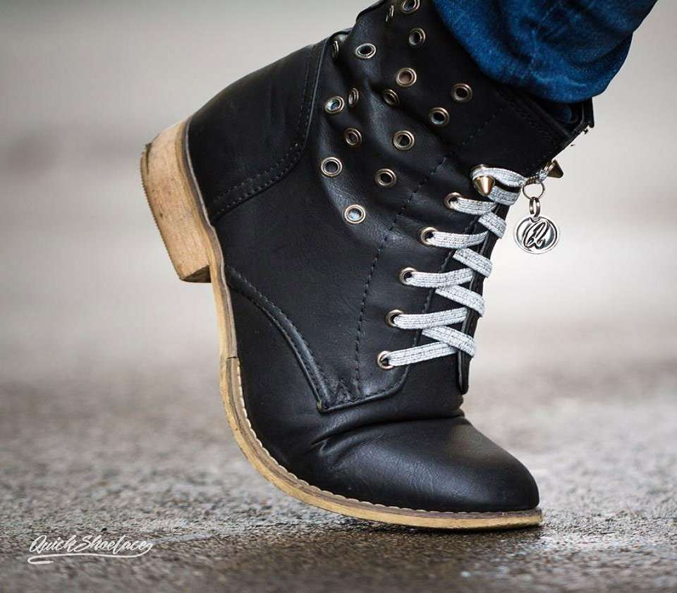 One Handed Shoe Laces
