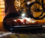 Foot Lamp Flip Flops