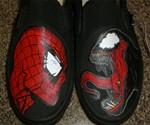 Spider-Man Vs. Venom Vans - Closeup