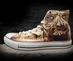 Walking Dead Zombie Chuck Taylors