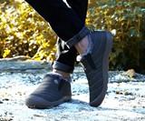 Fur-Lined Winter Slipper Boots