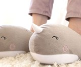 Narwhal USB Heated Slippers
