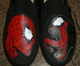 Spider-Man Vs. Venom Vans - Closeup