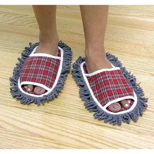 Dust Mop Slippers