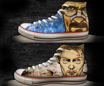 Breaking Bad & Walking Dead Chuck Taylors