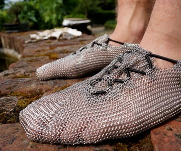 Chainmail Shoes
