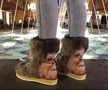 Furry Chewbacca Boots