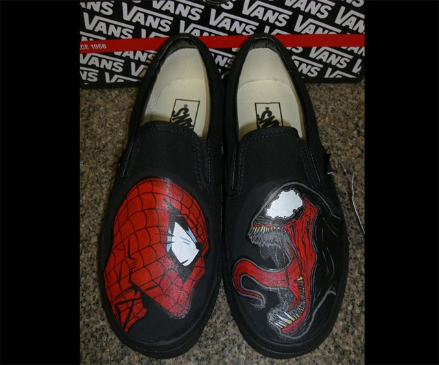 Spider-Man Vs. Venom Vans