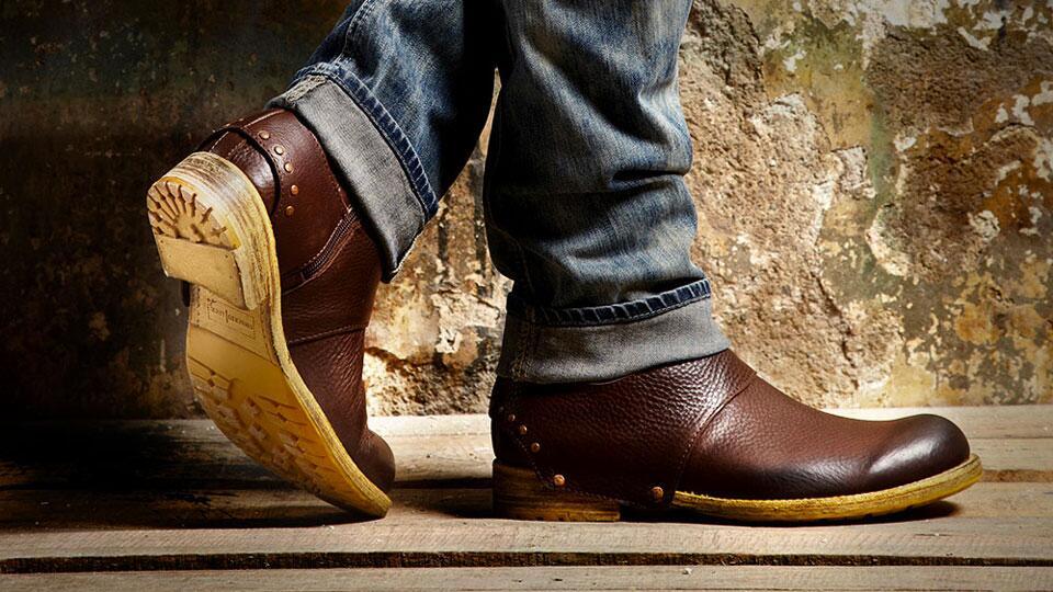 Umberto Luce Peepem Boots