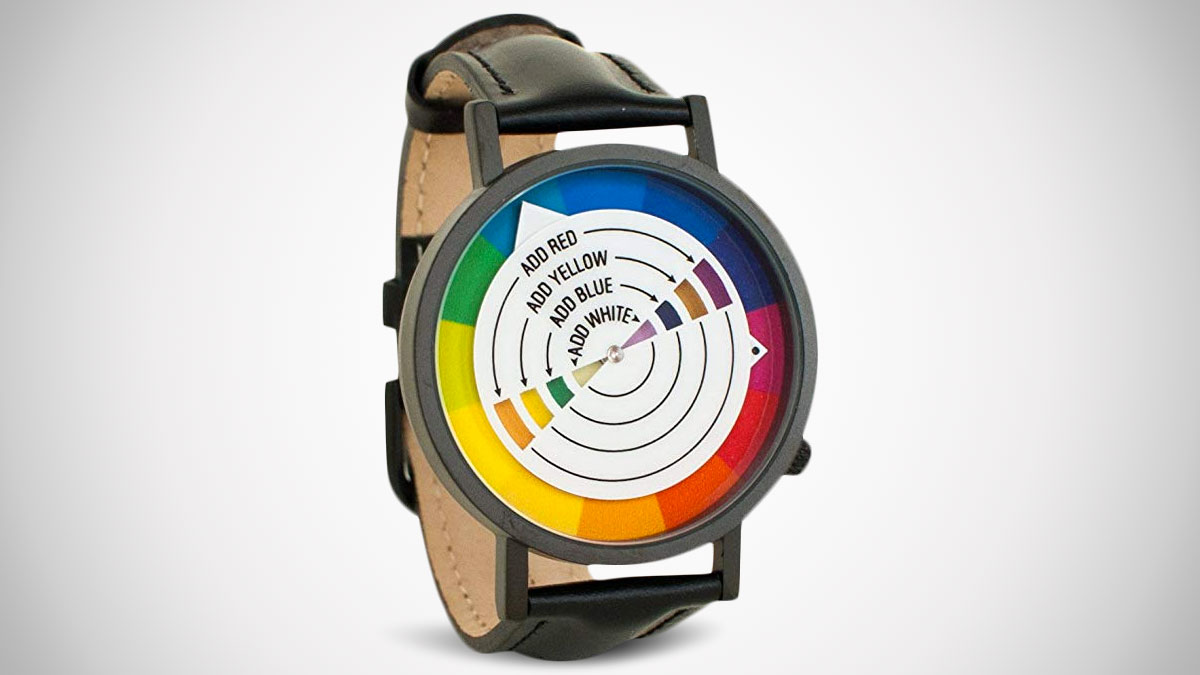 Color Wheel Watch