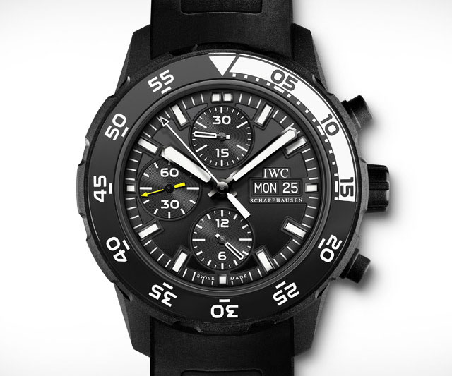 IWC Aquatimer Galapagos Islands Chronograph Watch