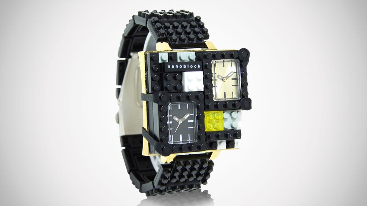 NanoBlockTime Traveler Watch