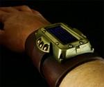 Man Wearing Steampunk LED Watch