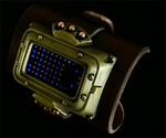 Steampunk LED Watch