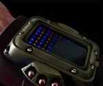 Steampunk LED Watch Closeup