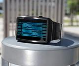 Kisai Online LCD Watch - Blue/Black
