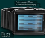 Kisai Upload Watch with MicroSD Card