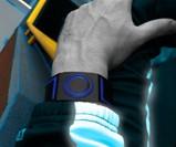 Man Wearing Kisai 7 LED Watch