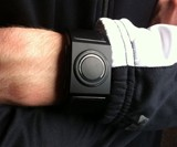 Man Wearing Kisai 7 LED Watch