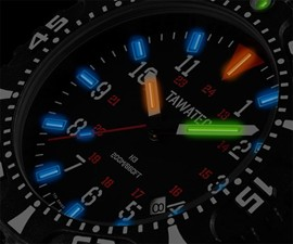 TAWATEC Tactical Tritium Watch