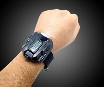 Super Bright Tactical Flashlight Wrist Watch