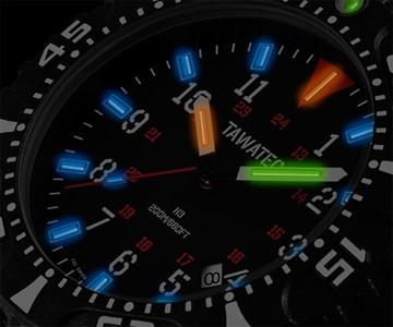 TAWATEC Tactical Tritium Watch