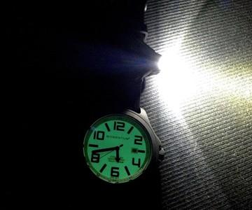 Watch-Mounted Flashlight