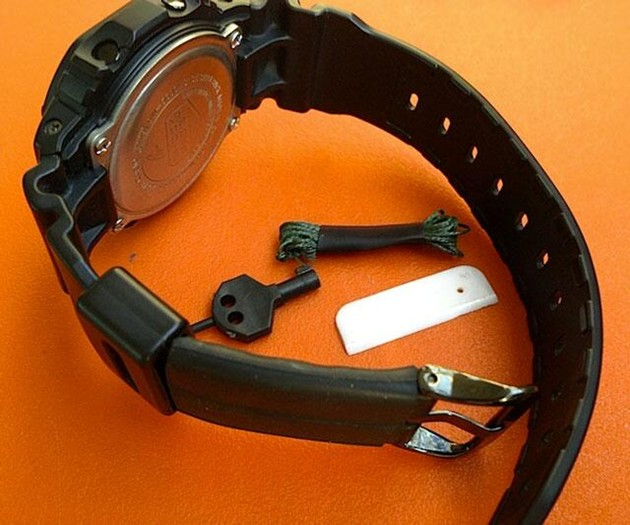 Anti-Kidnapping Watch Band