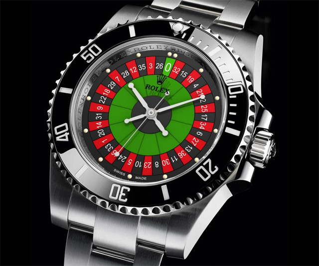 Rolex Submariner With Roulette Dial Dudeiwantthat Com
