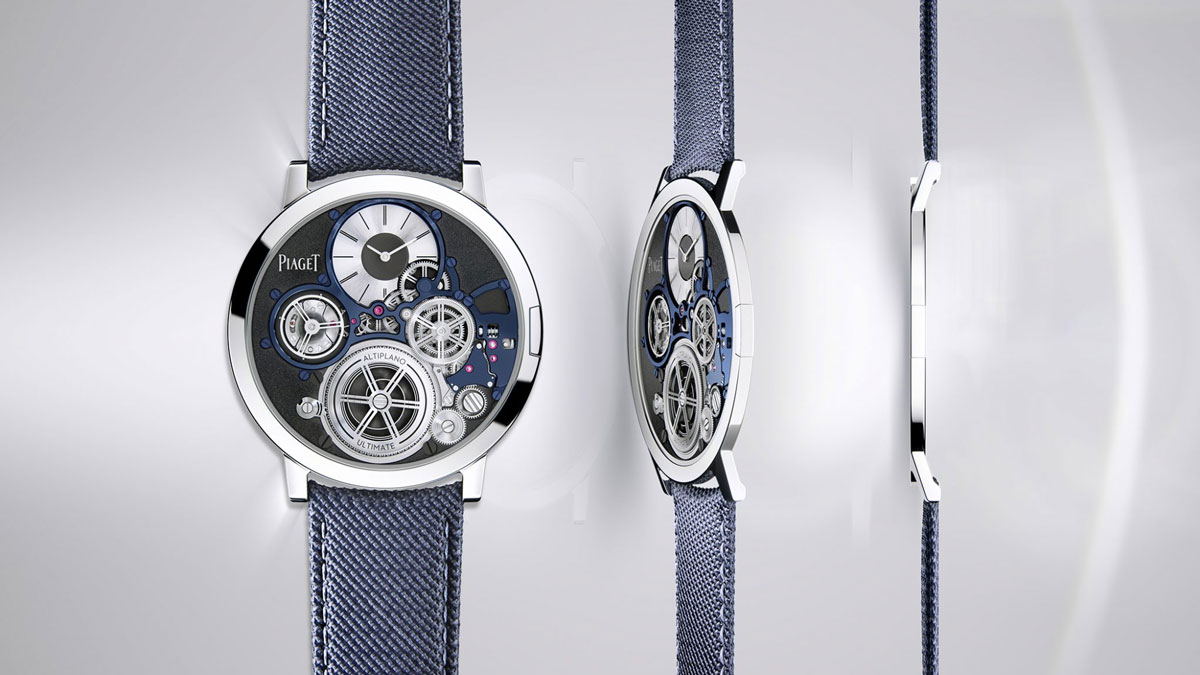 The World's Thinnest Mechanical Watch