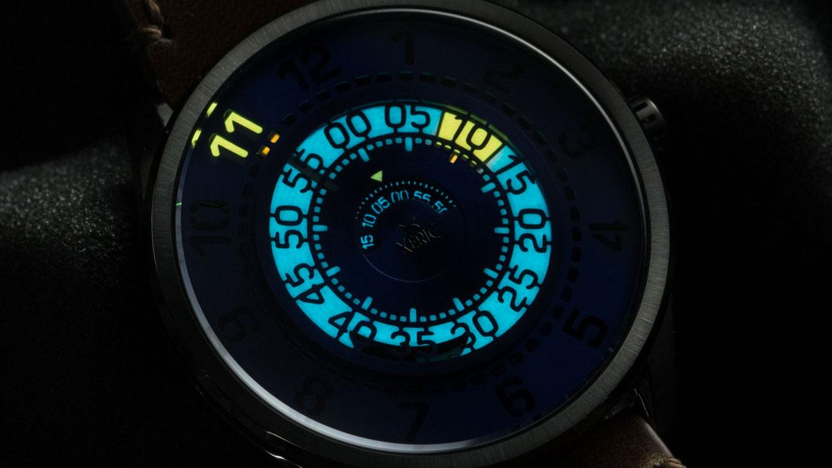 Xeric Cypher Automatic Tritium Watch